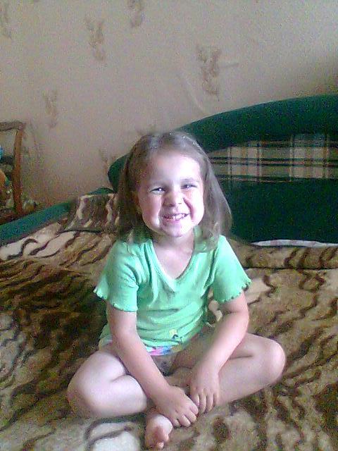 Моя дочь . Дети улыбаются