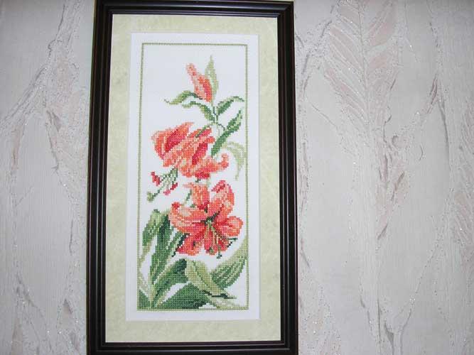Лилии. Растения (в основном цветы)
