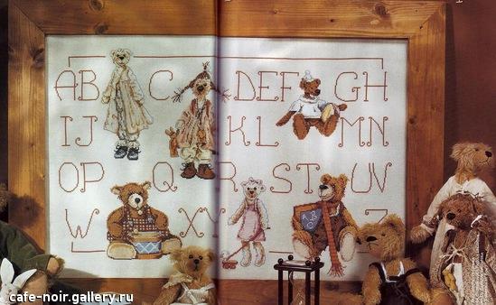 Медвежий алфавит.... Детские сюжеты