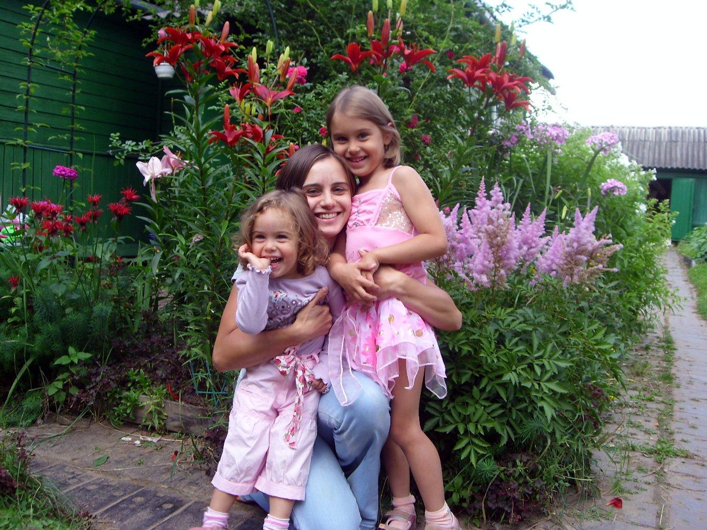 Мои любимые девчонки.