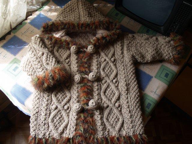 Пальто для дочки. Одежда для детей