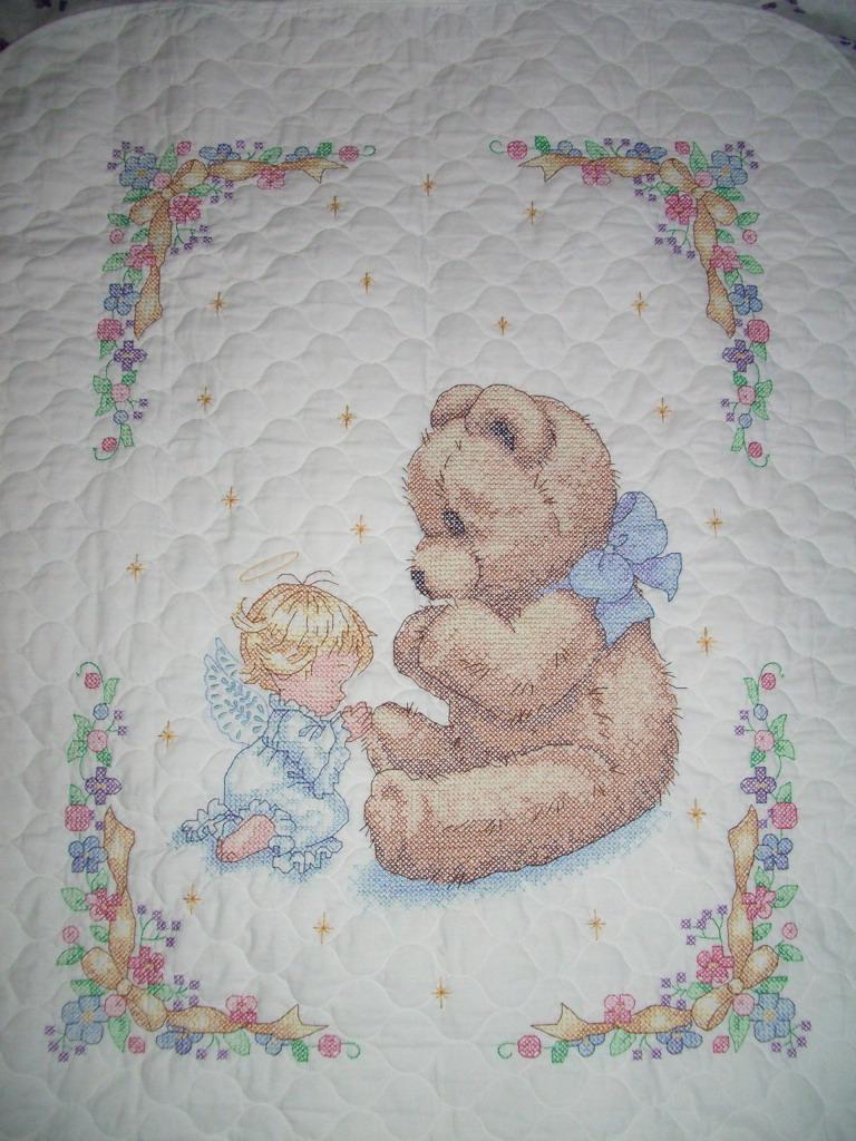 Детское одеялко от Dimensions. Детские сюжеты
