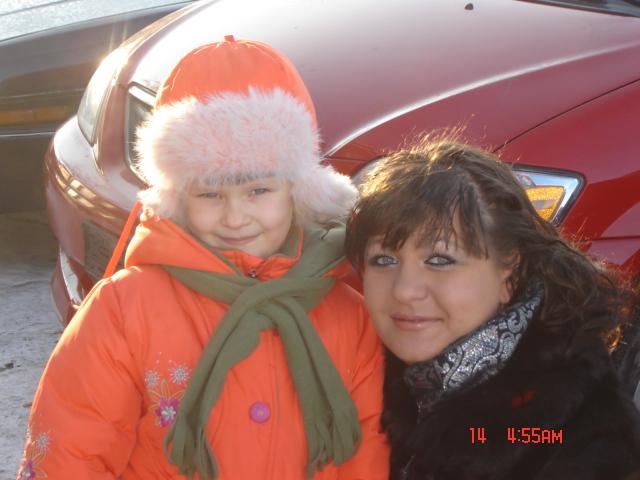 Я и Машенька. Вместе с мамой