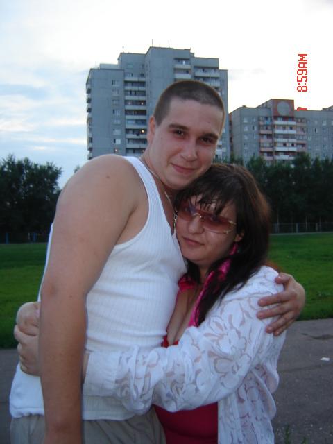Я с Юриком. Она и Он