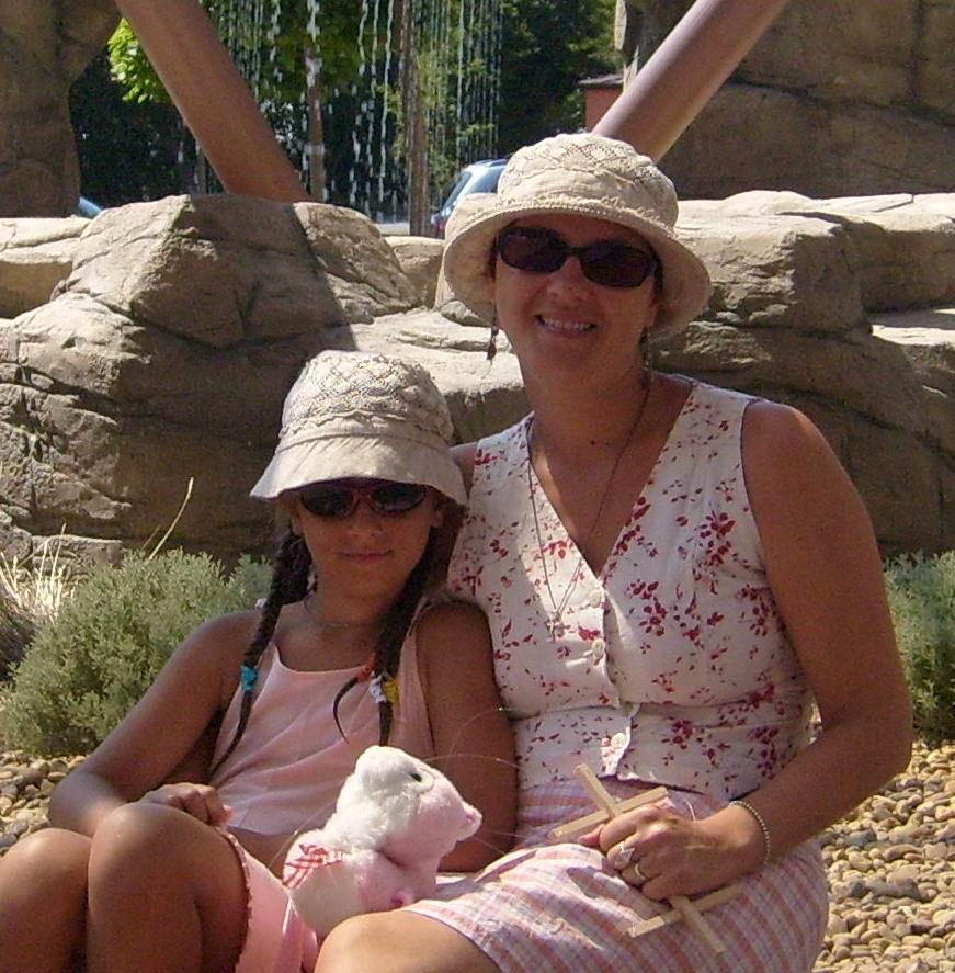 На Золотых песках. Вместе с мамой