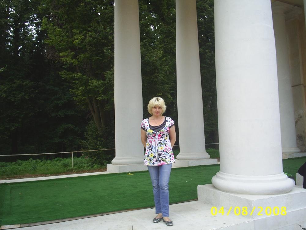 Я в летом 2008 в Архангельском. Достопримечательности