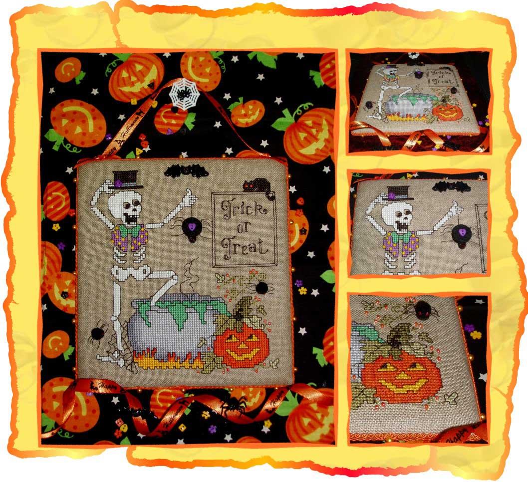 10 - автор Shpinelka для Белки Юли. 2008 Хэллоуин