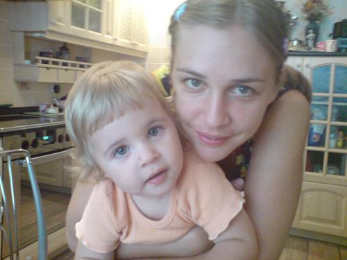 Я и Софья. Вместе с мамой