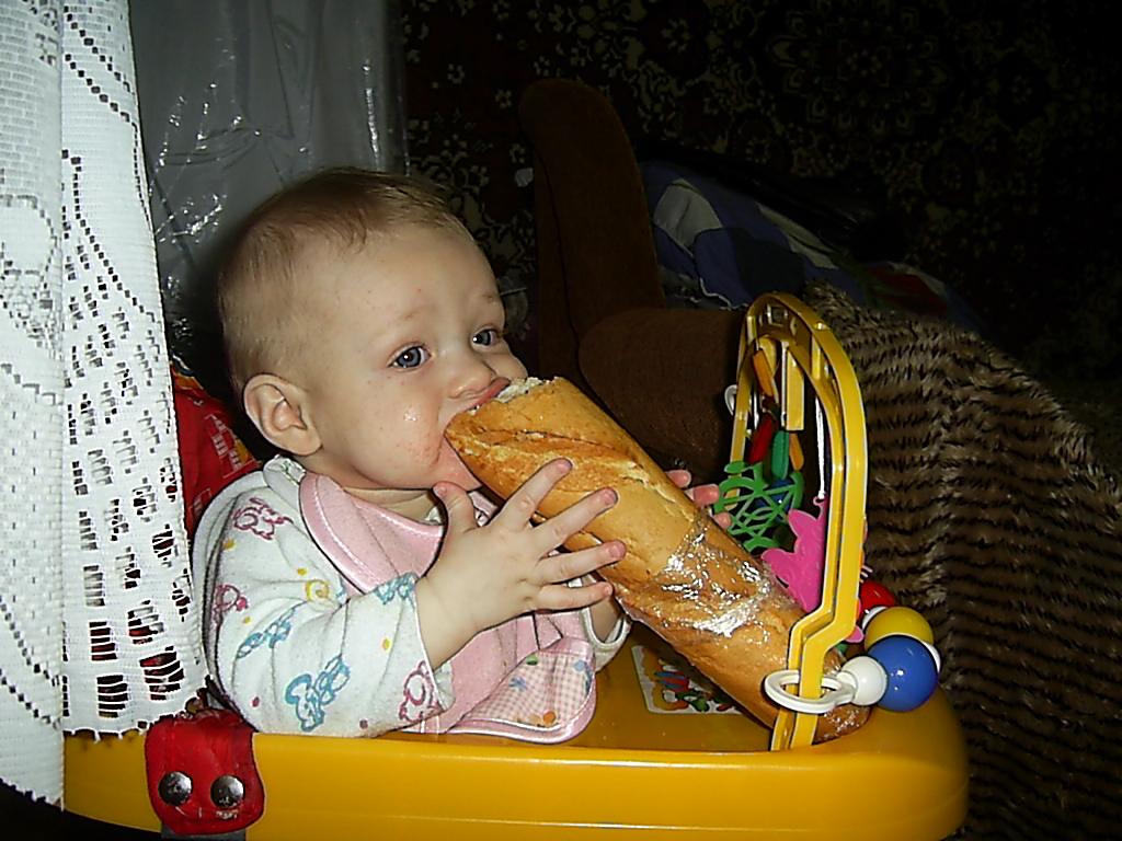 родители студенты только хлебом кормят. Что сегодня на обед?