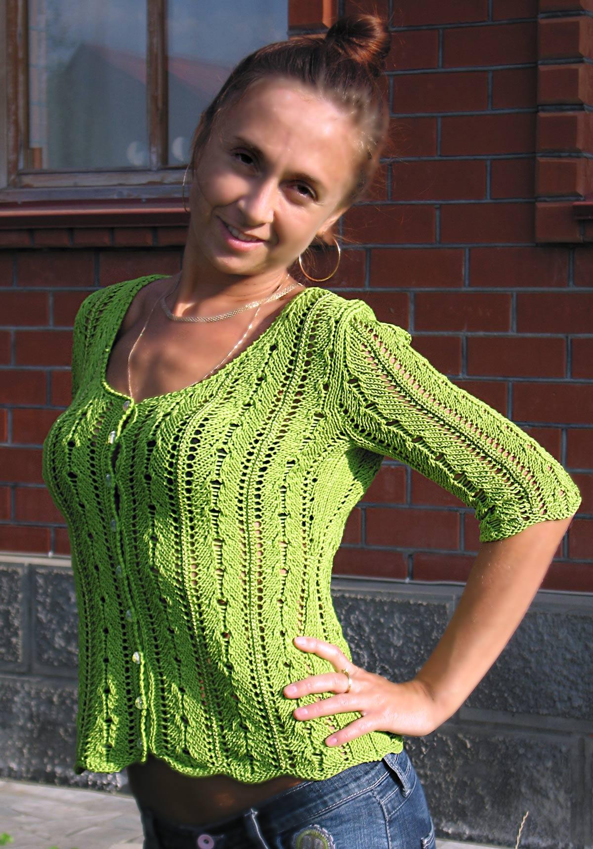 Блуза из Филати. Одежда