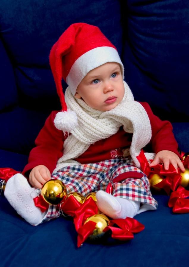 Маленький помощник Санты. Моя новогодняя ёлка