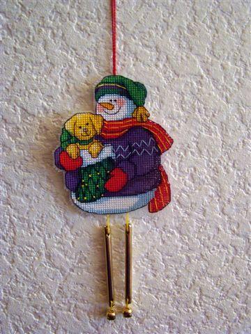 Снеговичок. Рождественские и новогодние мотивы