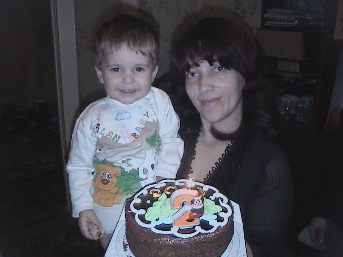 Серёженьке 2 годика.. День рождения