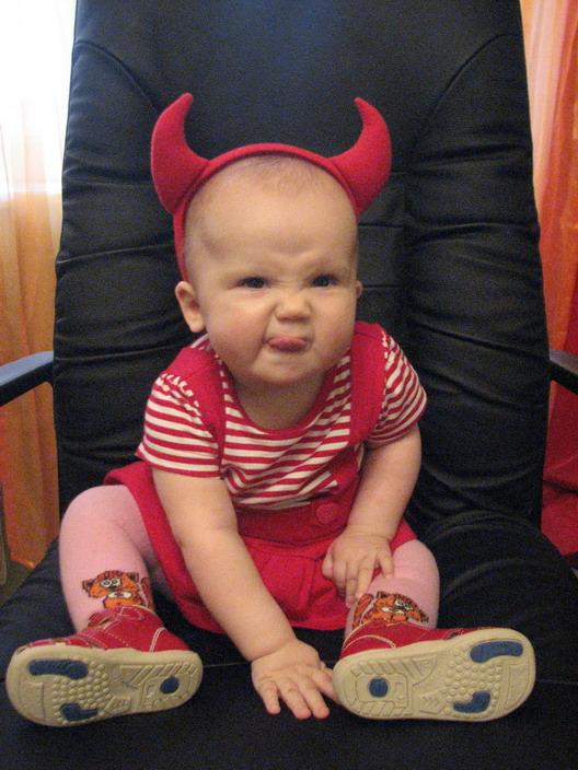 Дьяволёнок. Дети: художественное фото