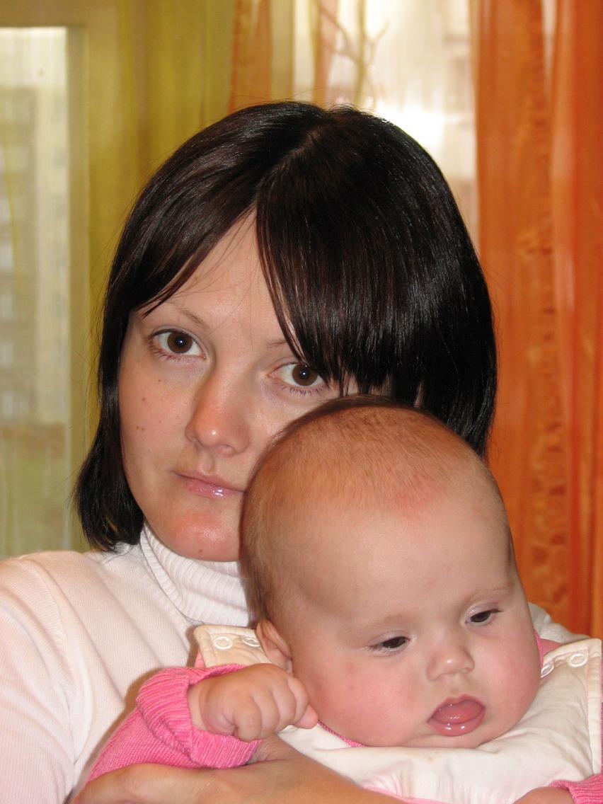 я и моя мама. Вместе с мамой