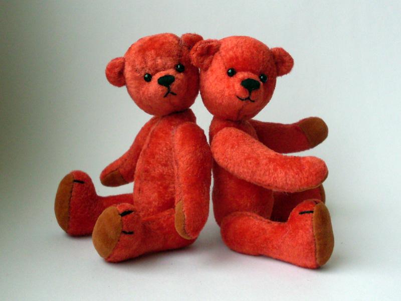 Валентин и Валентина. Самодельные игрушки