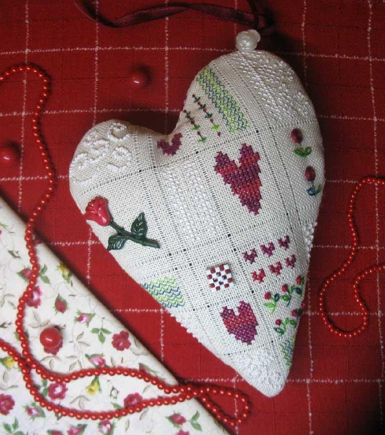 49. ~Голубка~ для Galina1981. 2009 Проект Сердечки