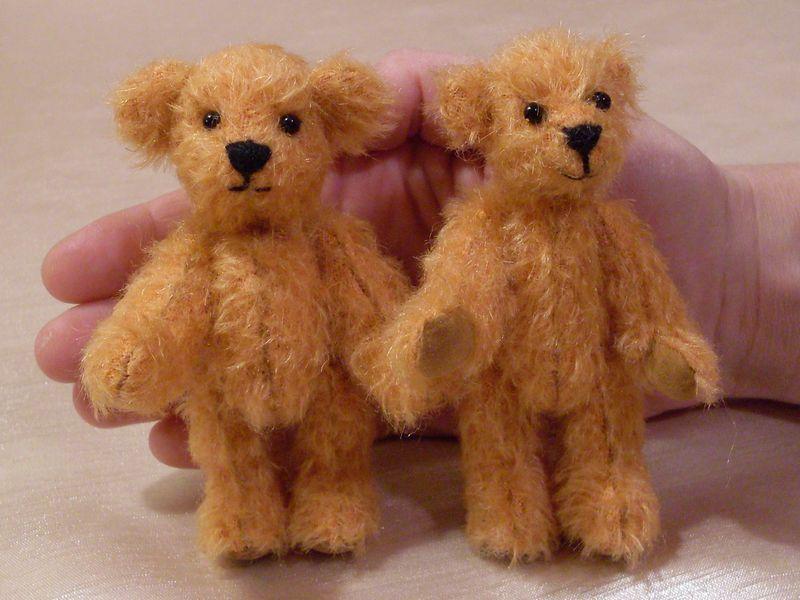 Мишки-малыши Томас и Джордж. Самодельные игрушки