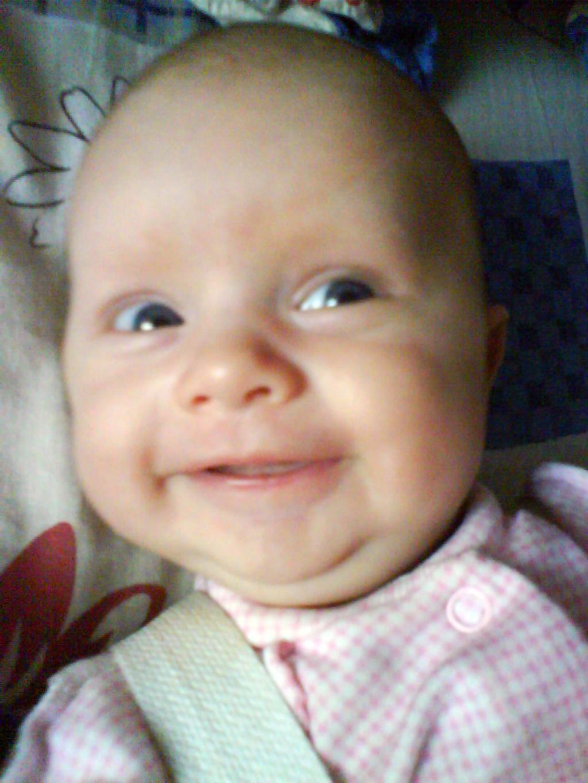 моя первая улыбка. Время улыбаться
