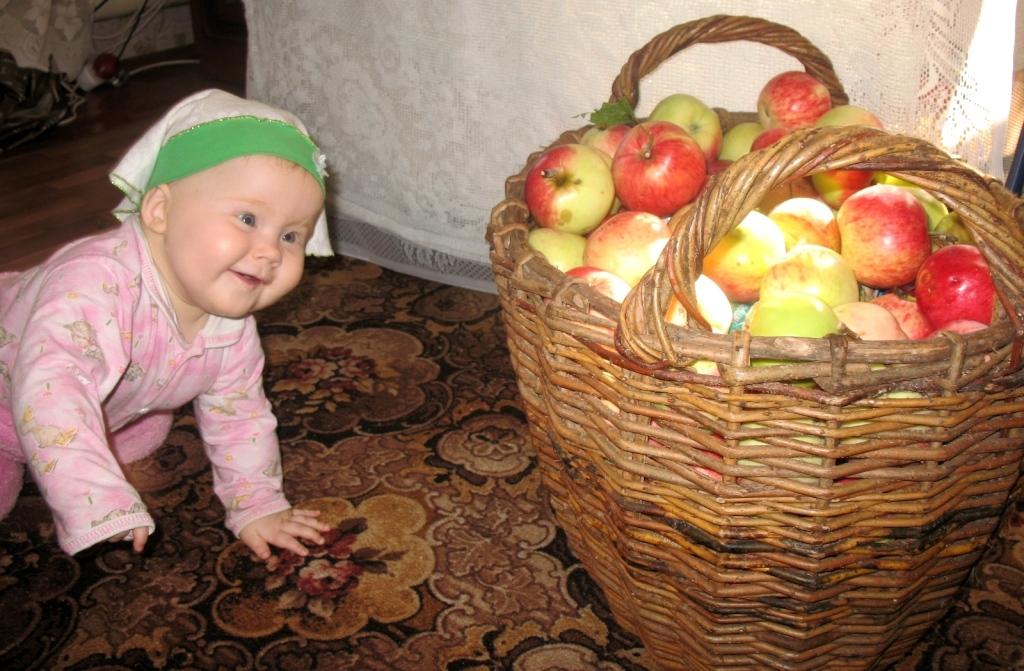 Ага, вот где мои наливные яблочки!. Время улыбаться