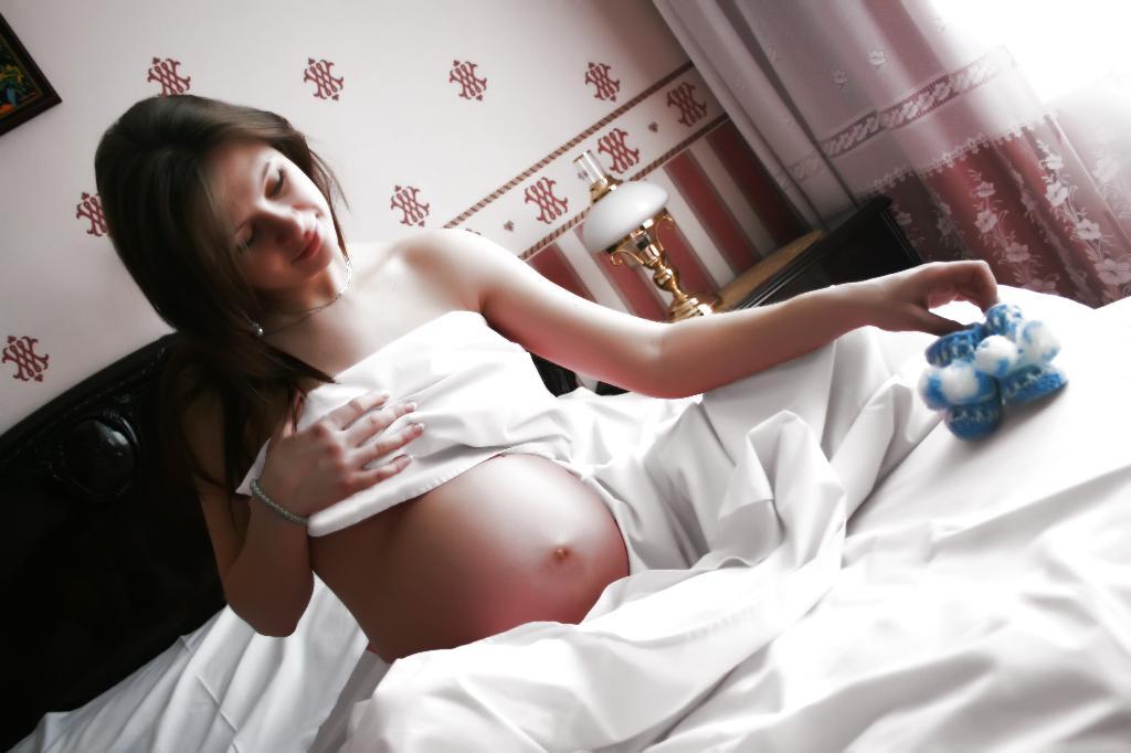 беременность. Мамина улыбка
