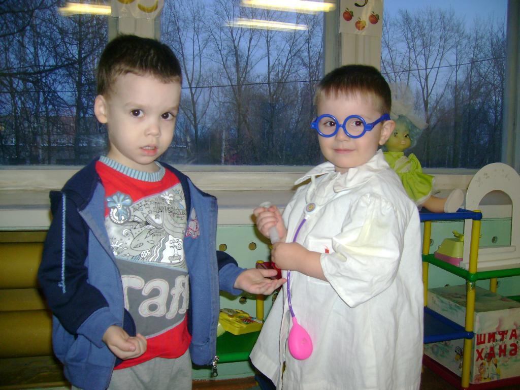 я маленький доктор.вылечу всех.. Мой любимый детский сад
