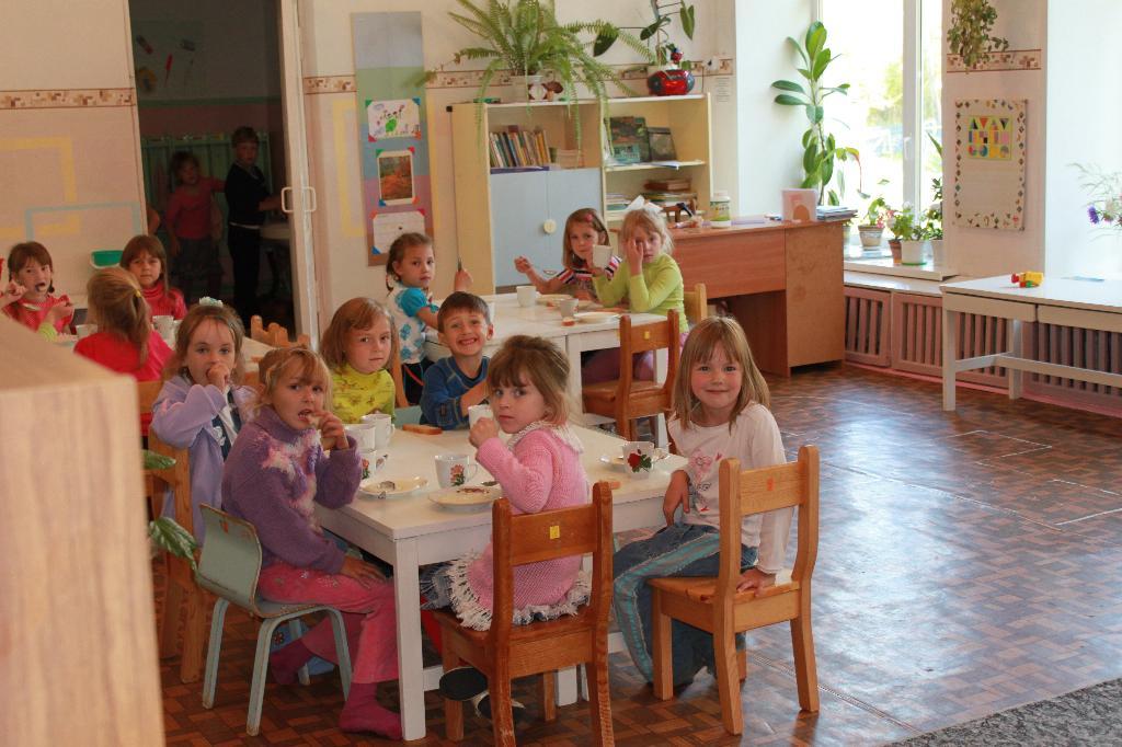 Ужин! Вместе аппетитнее!. Мой любимый детский сад