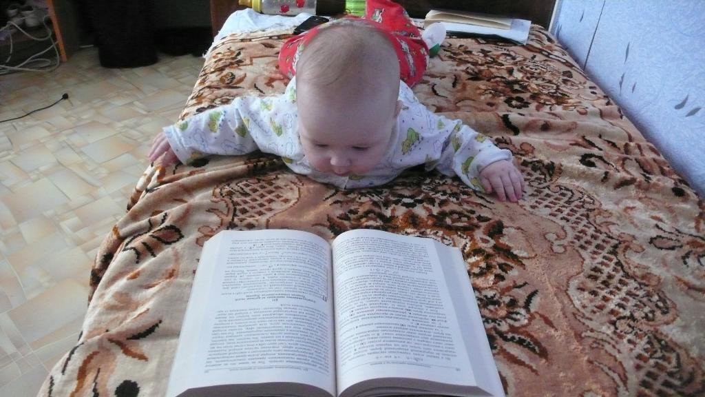 Еще пару страничек и мням-мням...... Дети: художественное фото