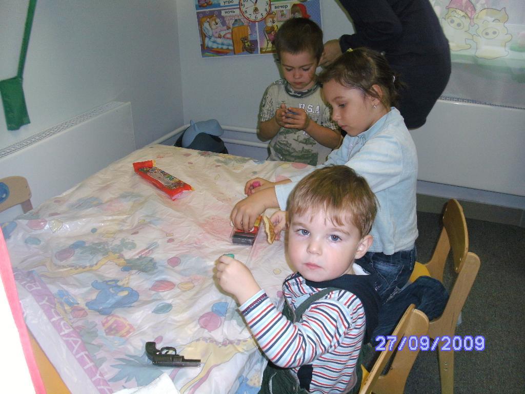 лепка. Мой любимый детский сад