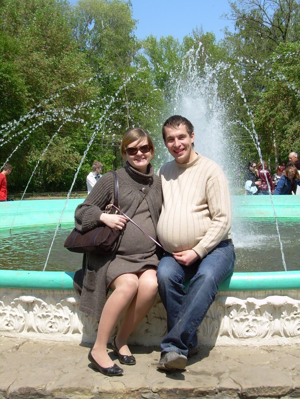кто сказал, что беременность не заразна?. Мамина улыбка