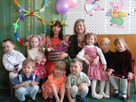 Веселая компания. Мой любимый детский сад