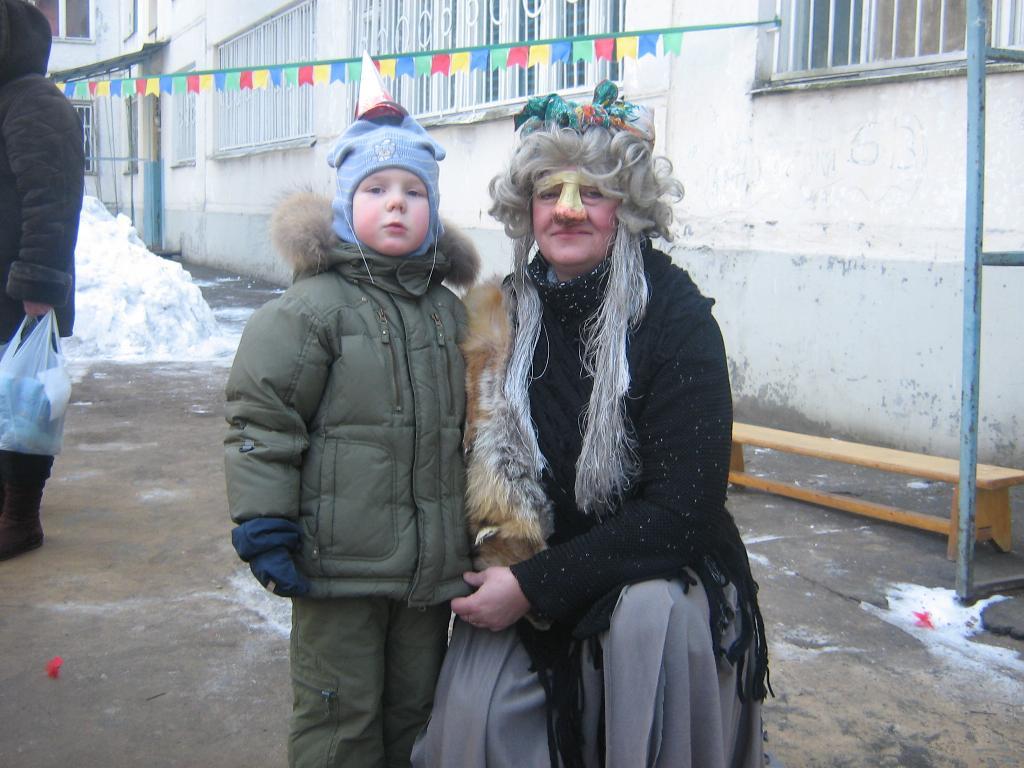 Алеша на праздновании масленицы в детском саду. Мой любимый детский сад