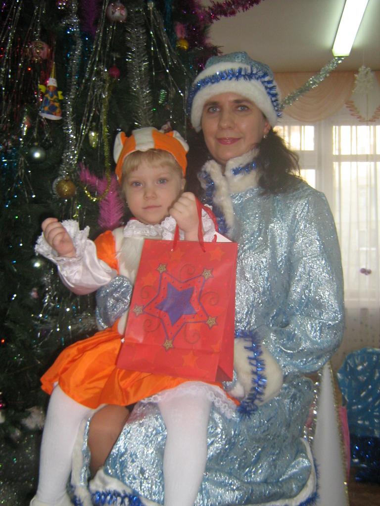 Первый детсадовский Новый Год. Мой любимый детский сад