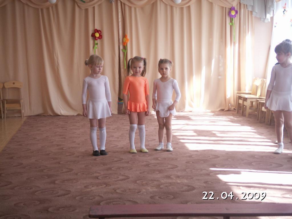 юнные балерины. Мой любимый детский сад