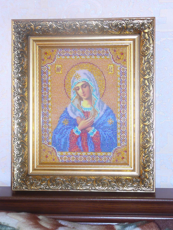Икона 'Богородица Умиление'. Иконы и библейские сюжеты