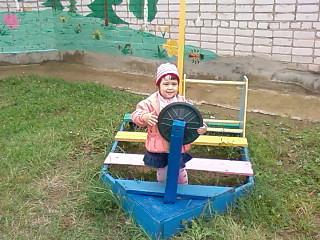 А у нас в садике есть вот такой кораблик... . Мой любимый детский сад