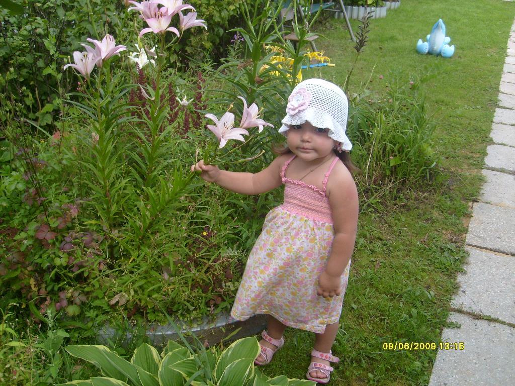 Моя маленькая принцесса. Белая панама