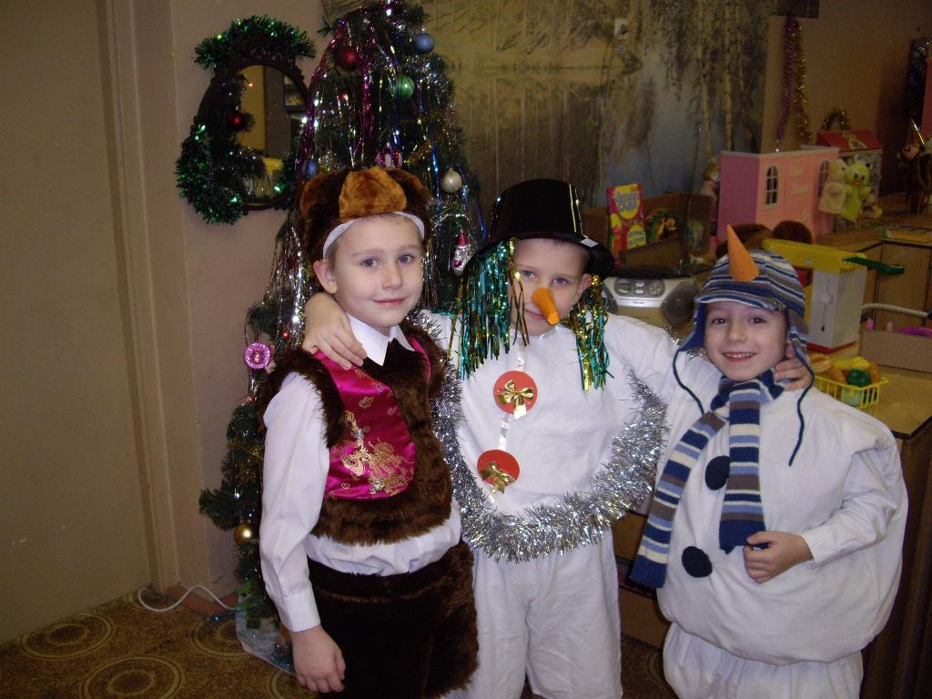 Новый год в детском саду. Мой любимый детский сад