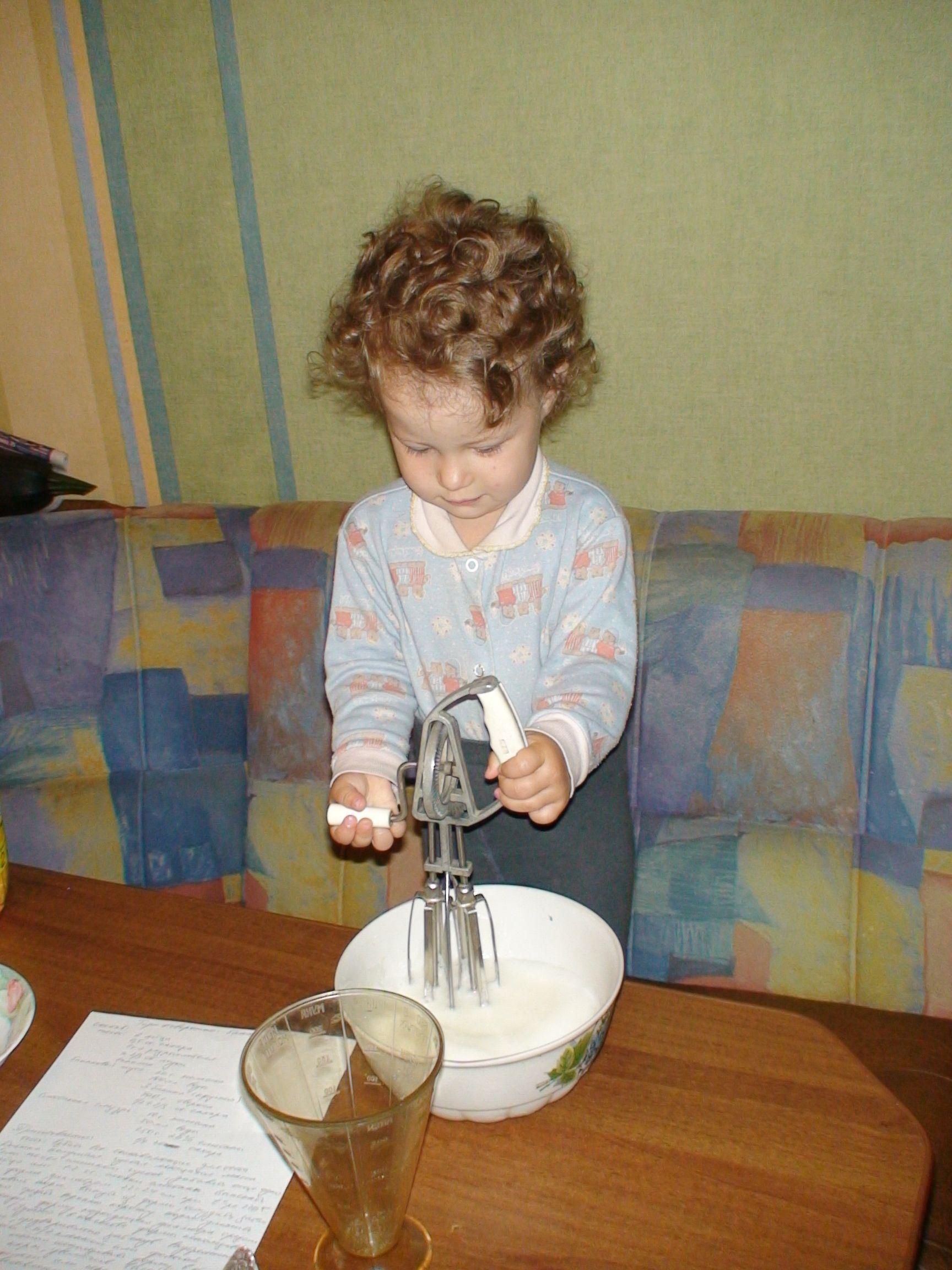 Торт на День рождения!. Закрытое голосование фотоконкурса 'Готовим вместе с мамой'