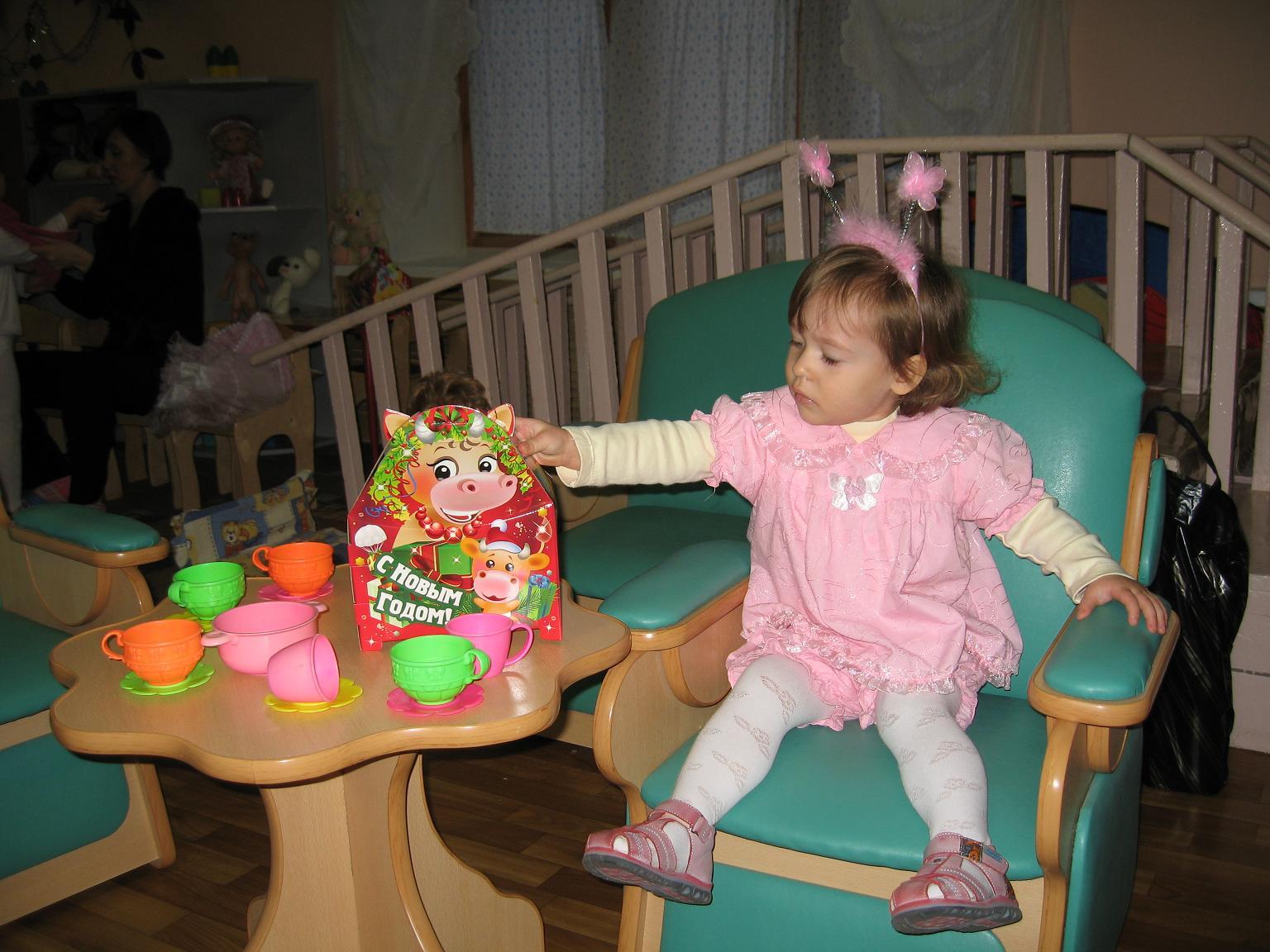 На утренике главное - подарок!. Мой любимый детский сад