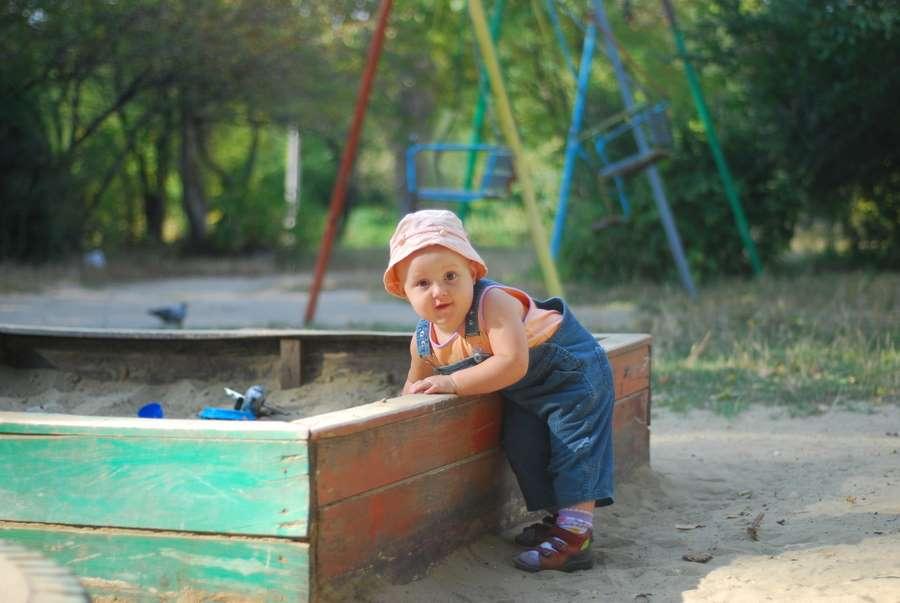 Песочные игры. Мой любимый детский сад