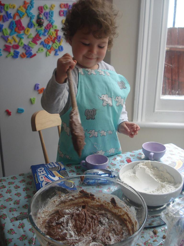 Пирог будет в срок!. Готовим вместе с мамой