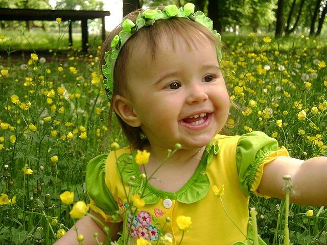 Мой цветочек. Время улыбаться