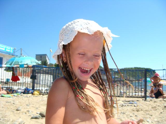 Солнце, море и детский смех!!!. Белая панама