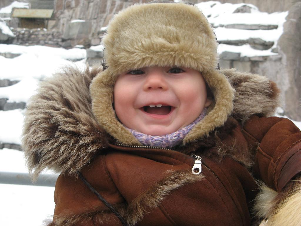 Зимняя радость. Время улыбаться