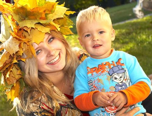 Осенние улыбки..... Время улыбаться