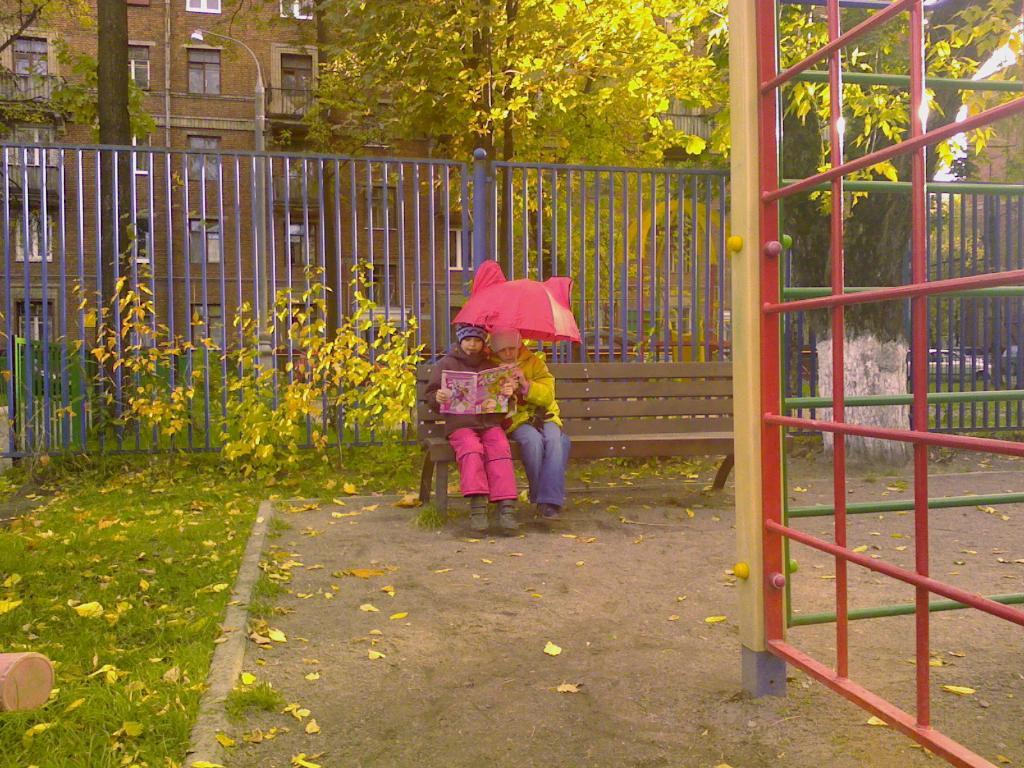 сын в саду. Мой любимый детский сад