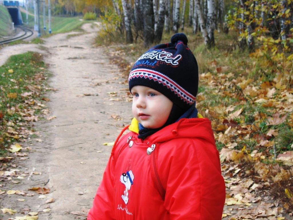 Осенняя прогулка. Маленькая модель