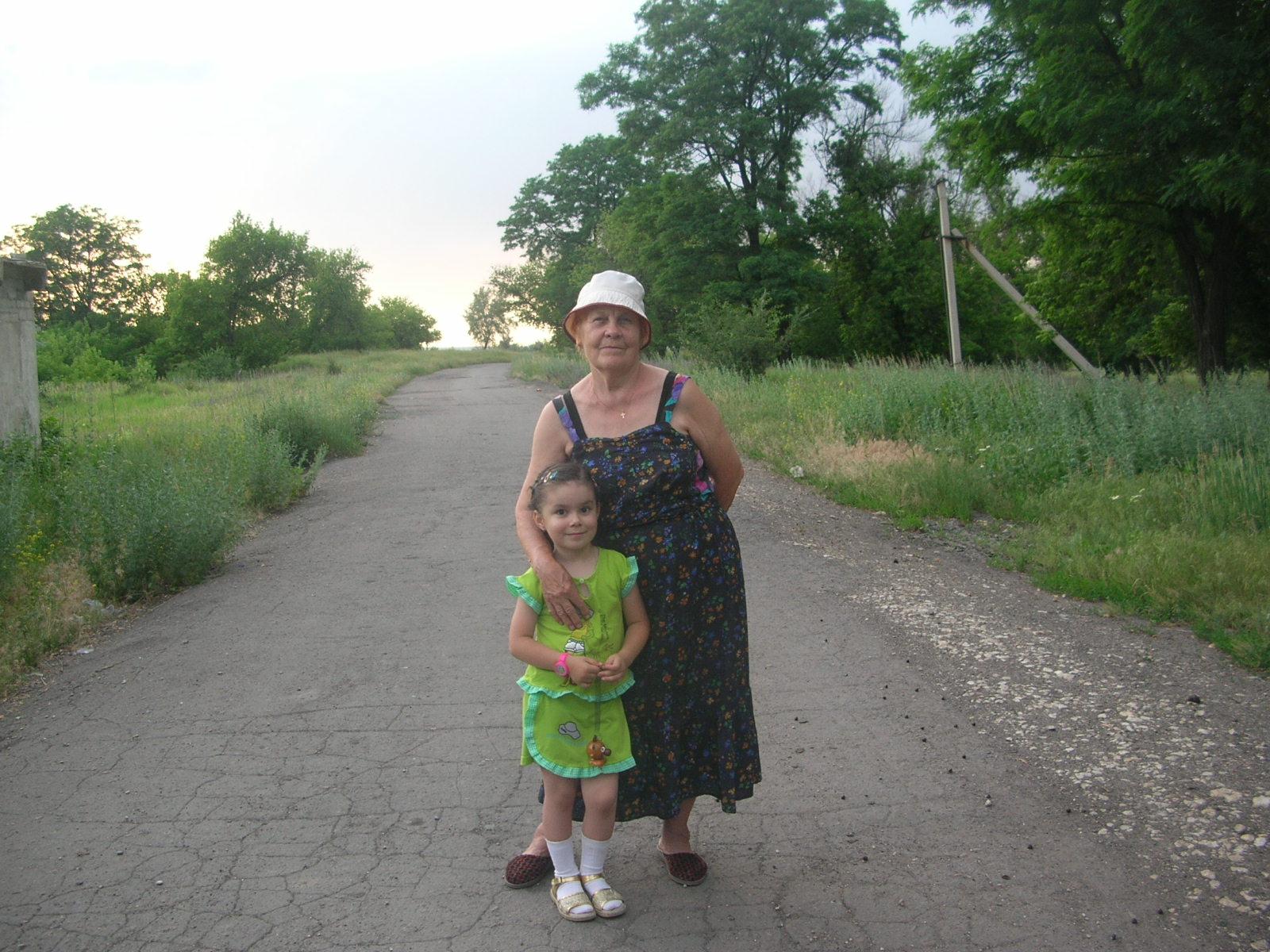 Мы так похожи с бабушкой !. Стар и мал