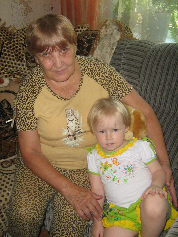 Любимая прабабушка. Стар и мал